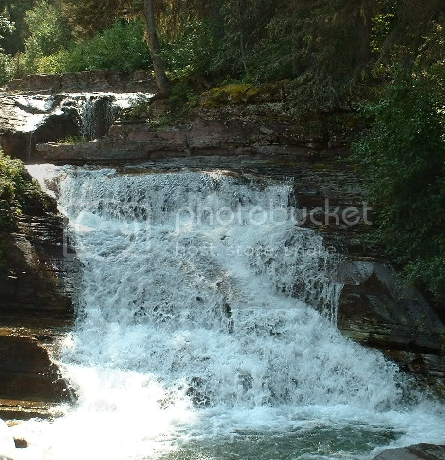 St. Mary River cascade Pictures, Images and Photos