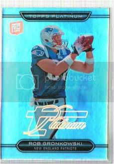 2010 Topps Platinum #122 Rob Gronkowski RC photo 1091002-7.jpg